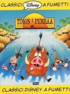 Copertina CLASSICI DISNEY A FUMETTI n.7 - Timon e Pumbaa e la città perduta, WALT DISNEY PRODUCTION