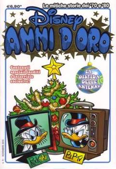 Copertina DISNEY ANNI D'ORO n.11 - DISNEY ANNI D'ORO           11, WALT DISNEY PRODUCTION