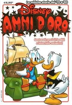 Copertina DISNEY ANNI D'ORO n.1 - DISNEY ANNI D'ORO            1, WALT DISNEY PRODUCTION