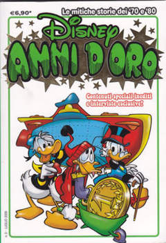 Copertina DISNEY ANNI D'ORO n.3 - DISNEY ANNI D'ORO            3, WALT DISNEY PRODUCTION