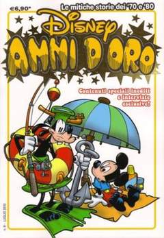 Copertina DISNEY ANNI D'ORO n.9 - DISNEY ANNI D'ORO            9, WALT DISNEY PRODUCTION