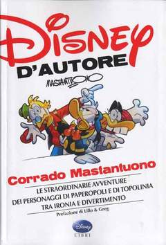 Copertina DISNEY D'AUTORE n.3 - CORRADO MASTANTUONO, WALT DISNEY PRODUCTION