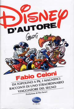 Copertina DISNEY D'AUTORE n.4 - FABIO CELONI, WALT DISNEY PRODUCTION
