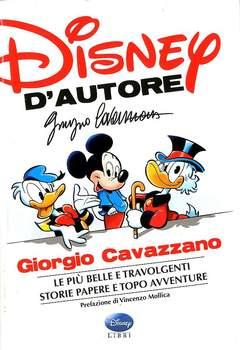 Copertina DISNEY D'AUTORE n.2 - GIORGIO CAVAZZANO, WALT DISNEY PRODUCTION