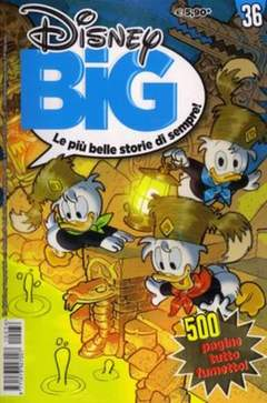 Copertina DISNEY BIG n.36 - DISNEY BIG                  36, WALT DISNEY PRODUCTION