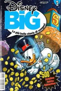Copertina DISNEY BIG n.2 - DISNEY BIG                   2, WALT DISNEY PRODUCTION