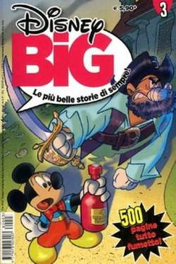 Copertina DISNEY BIG n.3 - DISNEY BIG                   3, WALT DISNEY PRODUCTION