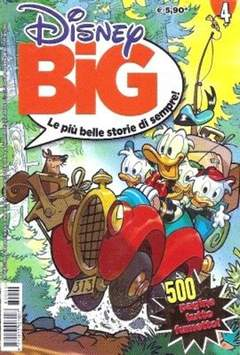Copertina DISNEY BIG n.4 - DISNEY BIG                   4, WALT DISNEY PRODUCTION