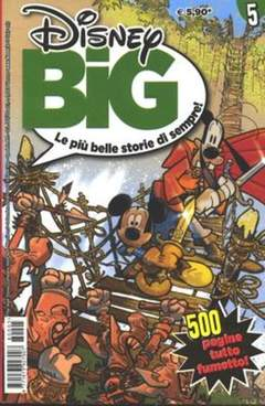Copertina DISNEY BIG n.5 - DISNEY BIG                   5, WALT DISNEY PRODUCTION
