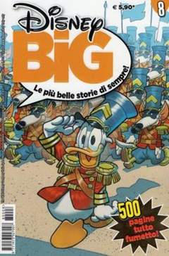 Copertina DISNEY BIG n.8 - DISNEY BIG                   8, WALT DISNEY PRODUCTION
