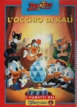 Copertina DISNEY CLUB n.2 - L'OCCHIO DI KALI', WALT DISNEY PRODUCTION