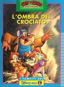 Copertina DISNEY CLUB n.1 - L'OMBRA DEL CROCIATO, WALT DISNEY PRODUCTION