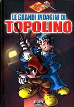 Copertina DISNEY COMICS n.10 - Le grandi indagini di Topolino, WALT DISNEY PRODUCTION