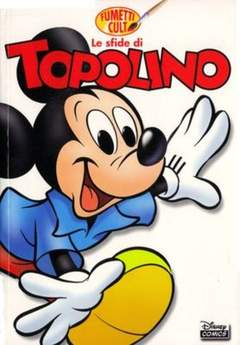 Copertina DISNEY COMICS n.7 - Le sfide di Topolino, WALT DISNEY PRODUCTION