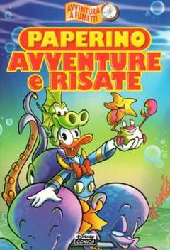 Copertina DISNEY COMICS n.8 - Paperino avventure e risate, WALT DISNEY PRODUCTION