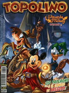 Copertina DISNEY COMICS n.1 - WIZARDS OF MICKEY, WALT DISNEY PRODUCTION