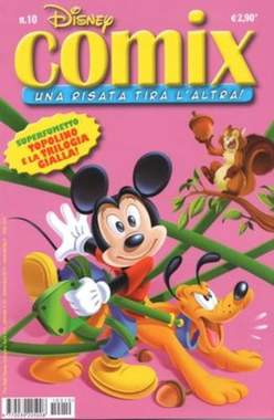 Copertina DISNEY COMIX n.10 - DISNEY COMIX 10, WALT DISNEY PRODUCTION