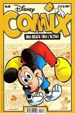 Copertina DISNEY COMIX n.16 - DISNEY COMIX 16, WALT DISNEY PRODUCTION