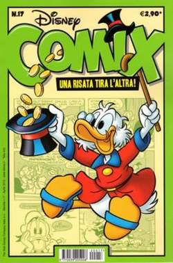 Copertina DISNEY COMIX n.17 - DISNEY COMIX 17, WALT DISNEY PRODUCTION