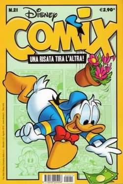 Copertina DISNEY COMIX n.21 - DISNEY COMIX 21, WALT DISNEY PRODUCTION