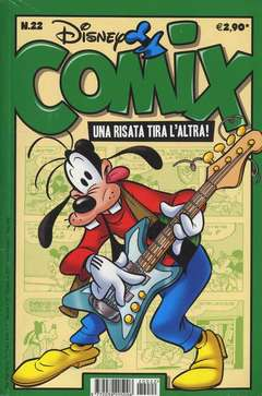 Copertina DISNEY COMIX n.22 - DISNEY COMIX 22, WALT DISNEY PRODUCTION