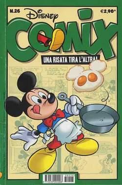 Copertina DISNEY COMIX n.26 - DISNEY COMIX 26, WALT DISNEY PRODUCTION