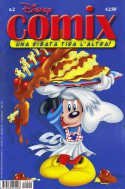 Copertina DISNEY COMIX n.2 - DISNEY COMIX 2, WALT DISNEY PRODUCTION