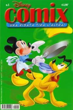 Copertina DISNEY COMIX n.5 - DISNEY COMIX 5, WALT DISNEY PRODUCTION