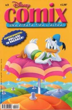 Copertina DISNEY COMIX n.9 - DISNEY COMIX 9, WALT DISNEY PRODUCTION