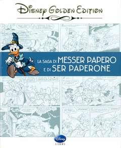 Copertina DISNEY GOLDEN EDITION n.2 - SAGA DI MESSER PAPERO E DI SER PAPERONE, WALT DISNEY PRODUCTION