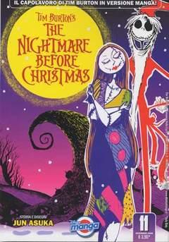 Copertina DISNEY MANGA n.11 - THE NIGHTMARE BEFORE CHRISTMAS, WALT DISNEY PRODUCTION