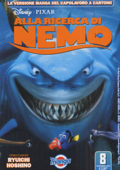 Copertina DISNEY MANGA n.8 - FINDING NEMO MANGA, WALT DISNEY PRODUCTION