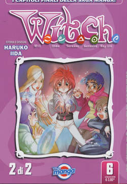 Copertina DISNEY MANGA n.6 - WITCH 2 (DI 2), WALT DISNEY PRODUCTION