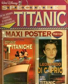 Copertina DISNEY SPECIALE n.10 - BLISTERATO CON POSTER TITANIC DI CAPRIO, WALT DISNEY PRODUCTION