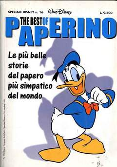 Copertina DISNEY SPECIALE n.16 - The best of Paperino, WALT DISNEY PRODUCTION