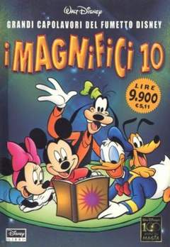 Copertina DISNEY SPECIALE n.24 - I magnifici 10, WALT DISNEY PRODUCTION