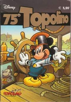Copertina DISNEY SPECIALE n.32 - 75° Topolino, WALT DISNEY PRODUCTION