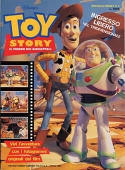 Copertina DISNEY SPECIALE n.4 - Toy Story Il Mondo dei Giocattoli, WALT DISNEY PRODUCTION