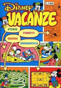 Copertina DISNEY VACANZE n.1987 - DISNEY VACANZE            1987, WALT DISNEY PRODUCTION