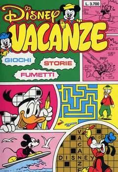 Copertina DISNEY VACANZE n.1988 - DISNEY VACANZE            1988, WALT DISNEY PRODUCTION