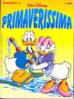 Copertina DISNEYTIME n.12 - Primaverissima, WALT DISNEY PRODUCTION