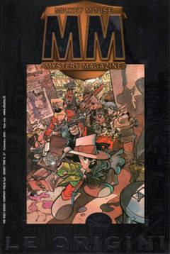 Copertina DISNEYTIME n.27 - Mickey Mouse Mystery Magazine - Le origini, WALT DISNEY PRODUCTION