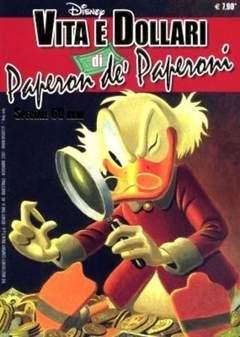 Copertina DISNEYTIME n.48 - Vita e Dollari di Paperon de' Paperoni - Speciale 60 anni, WALT DISNEY PRODUCTION