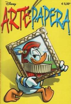 Copertina DISNEYTIME n.53 - Arte Papera, WALT DISNEY PRODUCTION
