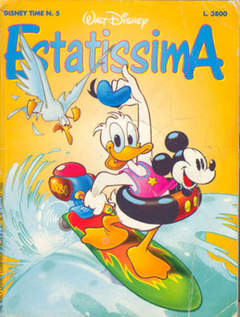 Copertina DISNEYTIME n.5 - Estatissima, WALT DISNEY PRODUCTION