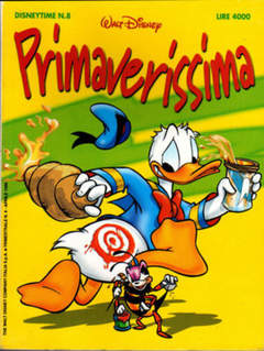 Copertina DISNEYTIME n.8 - Primaverissima, WALT DISNEY PRODUCTION