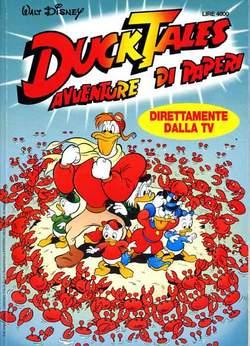 Copertina DUCK TALES AVVENTURE DI PAPERI n.1 - DUCK TALES AVVENTURE DI PAPERI    1, WALT DISNEY PRODUCTION