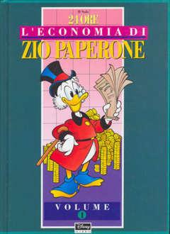 Copertina ECONOMIA ZIO PAPERONE cartonata n.1 - ECONOMIA ZIO PAPERONE cartonata, WALT DISNEY PRODUCTION