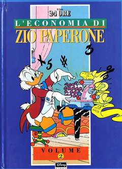 Copertina ECONOMIA ZIO PAPERONE cartonata n.2 - ECONOMIA ZIO PAPERONE cartonata, WALT DISNEY PRODUCTION