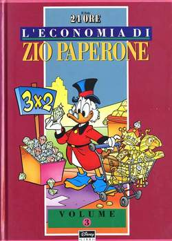 Copertina ECONOMIA ZIO PAPERONE cartonata n.3 - ECONOMIA ZIO PAPERONE cartonata, WALT DISNEY PRODUCTION